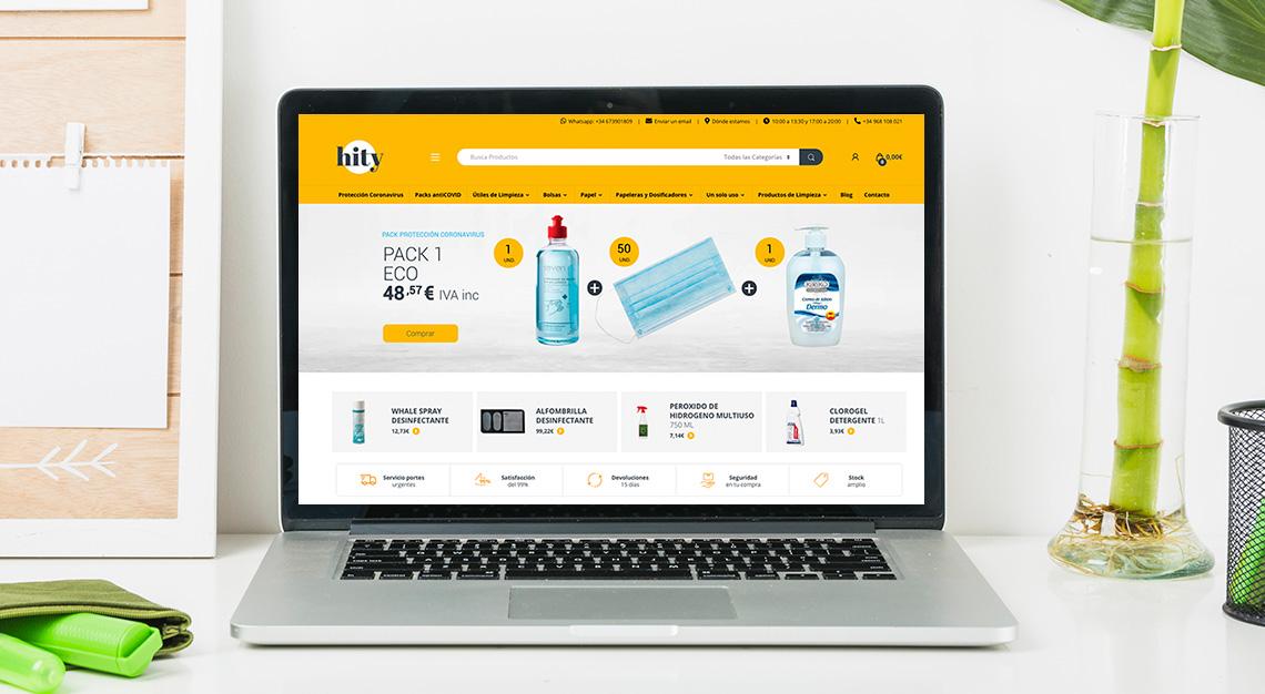 Venta online productos de limpieza Hity